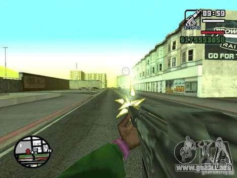 Primera persona (First-Person mod) para GTA San Andreas octavo de pantalla