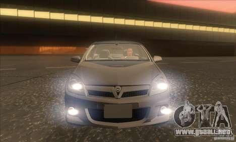 Opel Astra GTC DIM v1.0 para vista inferior GTA San Andreas