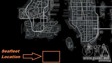 Marina de guerra para GTA 4 sexto de pantalla