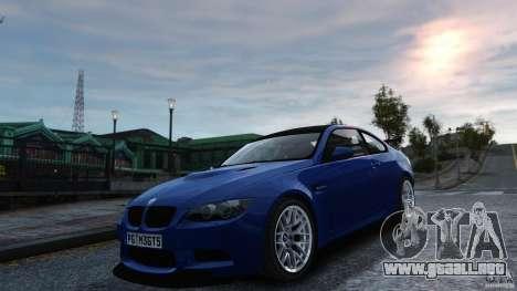 BMW M3 GTS Final para GTA 4 visión correcta