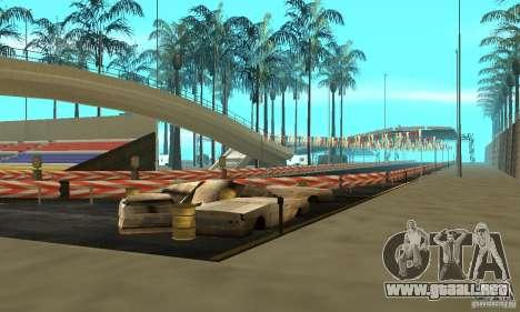 Island of Dreams V1 para GTA San Andreas sucesivamente de pantalla