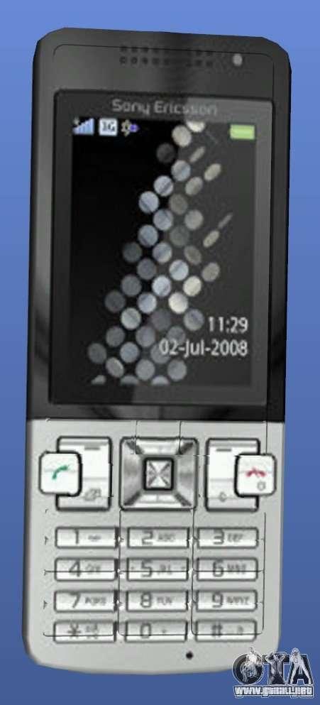 Teléfono móvil Sony Ericsson T700 para GTA 4
