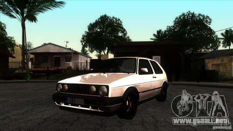 VW Golf 2 para GTA San Andreas