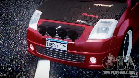 Citroen C2 Light Tuning [Beta] para GTA 4 interior