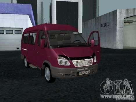 GAZ 2217 Sobol para GTA San Andreas
