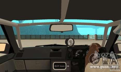 Toyota Sprinter para GTA San Andreas vista hacia atrás