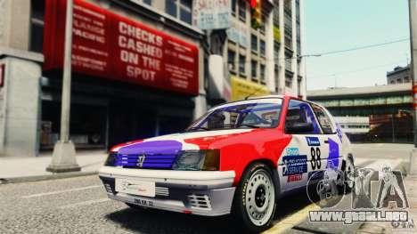 Peugeot 205 Rally para GTA 4