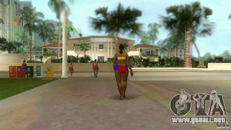 Big Lady Cop Mod 2 para GTA Vice City segunda pantalla