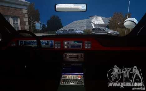 Chevrolet Caprice 1991 Police para GTA 4 interior