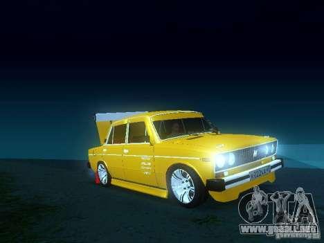 VAZ 2106 SPARKO para la visión correcta GTA San Andreas