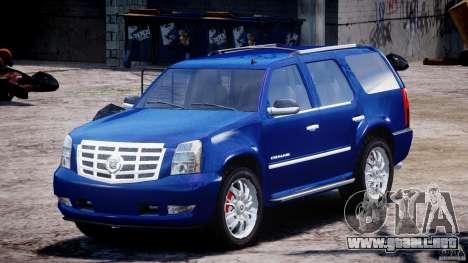 Cadillac Escalade [Beta] para GTA 4