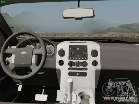 Ford F-150 para la vista superior GTA San Andreas