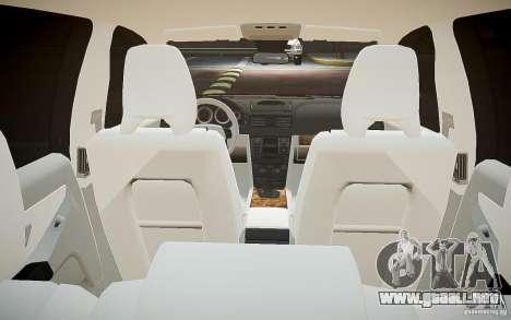Volvo XC 90 para GTA 4 vista desde abajo