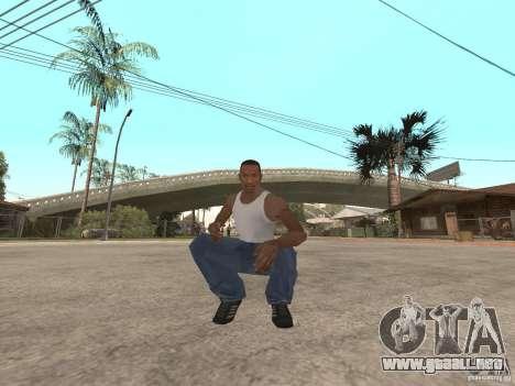 Awesome .IFP V3 para GTA San Andreas segunda pantalla