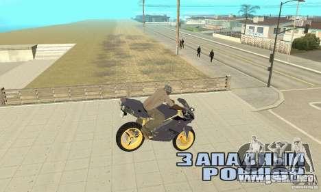 Ducati 916 para la visión correcta GTA San Andreas