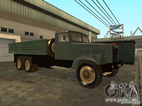 Remolque de camión KrAZ v. 2 para GTA San Andreas