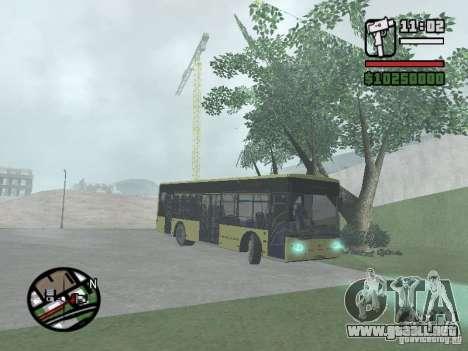LAZ presentada (SitiLAZ 10) para la visión correcta GTA San Andreas