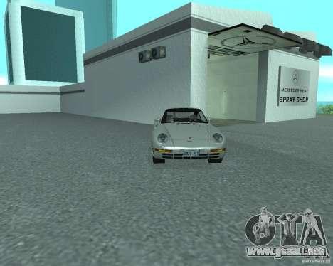 PORSHE 959 para la visión correcta GTA San Andreas