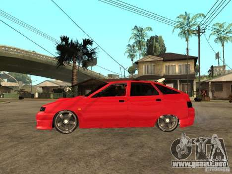 Lada 2112 GTS Sprut para GTA San Andreas left