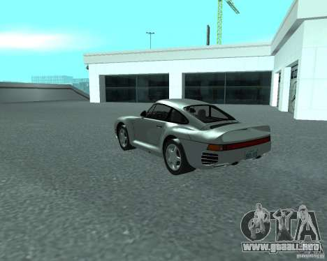 PORSHE 959 para GTA San Andreas left