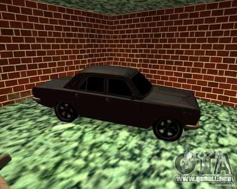 GAS 24 v3 para la visión correcta GTA San Andreas