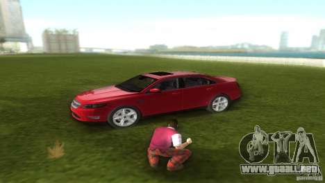 Ford Taurus para GTA Vice City vista lateral izquierdo