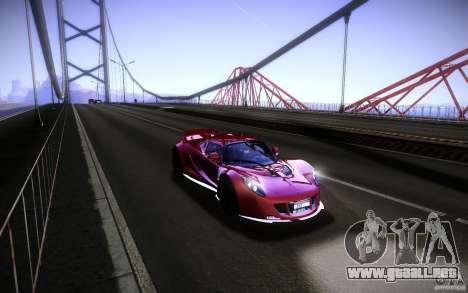Hennessey Venom GT 2010 V1.0 para la visión correcta GTA San Andreas