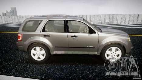 Ford Escape 2011 Hybrid Civilian Version v1.0 para GTA 4 vista lateral