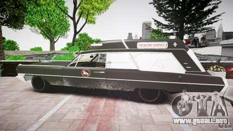 Cadillac Wildlife Control para GTA 4 visión correcta