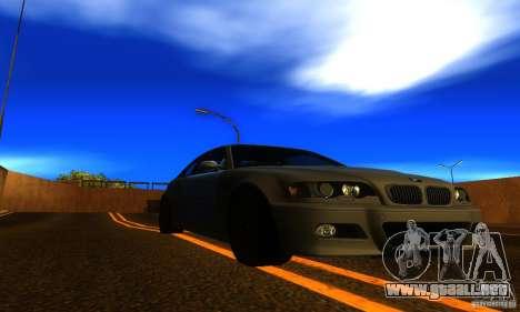 BMW M3 E46 TUNEABLE para la visión correcta GTA San Andreas