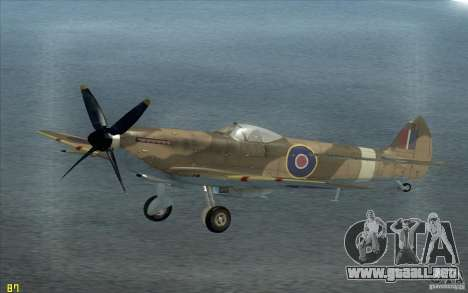 Spitfire para GTA San Andreas