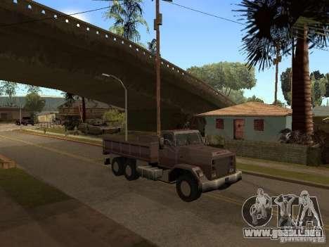 Ford Freightliner para GTA San Andreas left