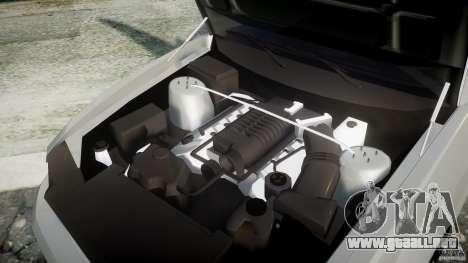Ford Mustang V6 2010 Chrome v1.0 para GTA 4 vista hacia atrás