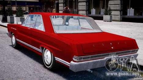 Ford Mercury Comet 1965 para GTA 4 visión correcta