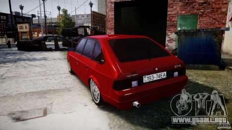 AZLK Moskvich 2141 STR-v 2.1 para GTA 4 Vista posterior izquierda