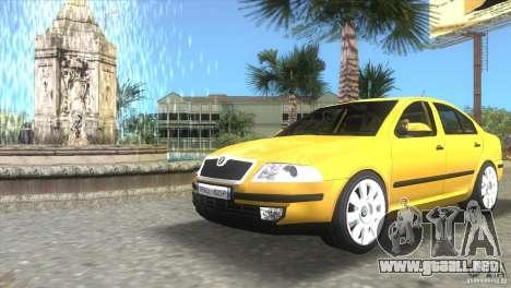 Skoda Octavia 2005 para GTA Vice City left