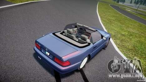 Mercedes-Benz SL500 para GTA 4 vista interior