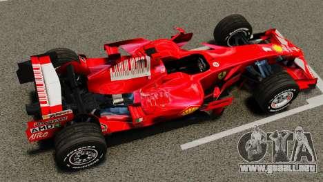 Ferrari F2008 para GTA 4 visión correcta
