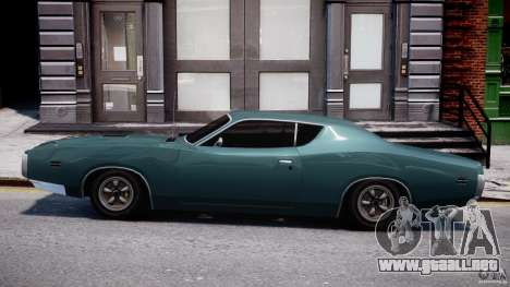 Dodge Charger RT 1971 v1.0 para GTA 4 vista interior