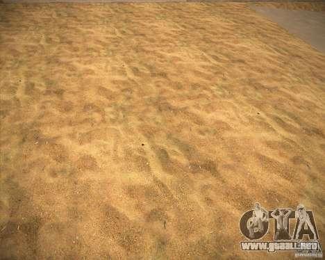 Desert HQ para GTA San Andreas sucesivamente de pantalla