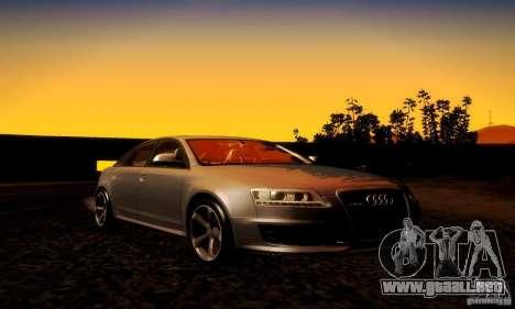 Audi RS6 TT para vista lateral GTA San Andreas