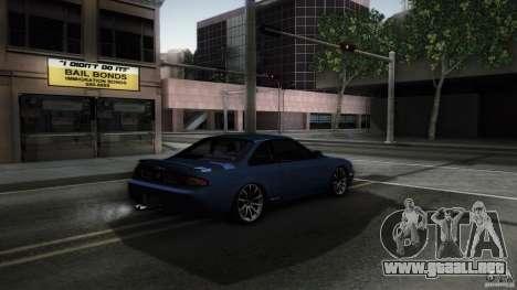 Nissan Silvia S14 Zenk para GTA San Andreas vista posterior izquierda