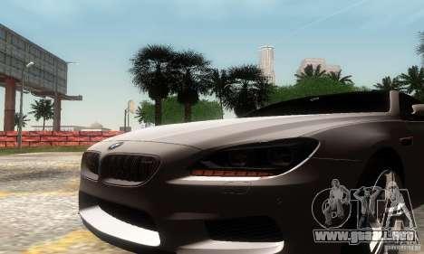 BMW M6 Coupe 2013 para la visión correcta GTA San Andreas