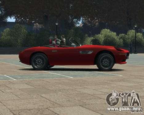 BMW Z8 para GTA 4 visión correcta