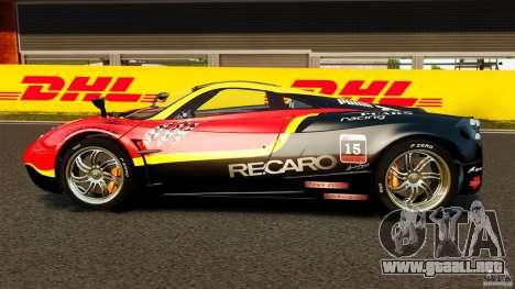Pagani Huayra 2011 [EPM] para GTA 4 left