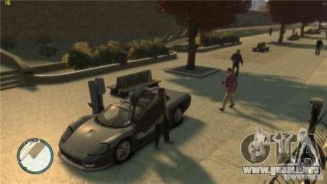 Conducción realista para GTA 4 segundos de pantalla