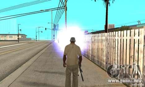Hipnosis en San Andreas para GTA San Andreas sucesivamente de pantalla