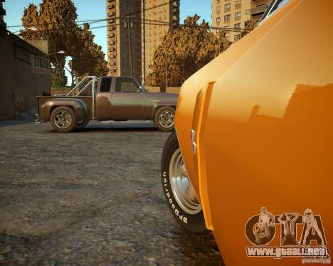Dodge Charger Magnum 1970 para GTA 4 vista lateral