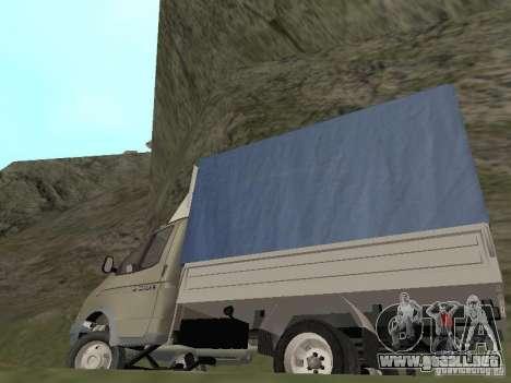 GAZ 3302 en 2001. para vista lateral GTA San Andreas