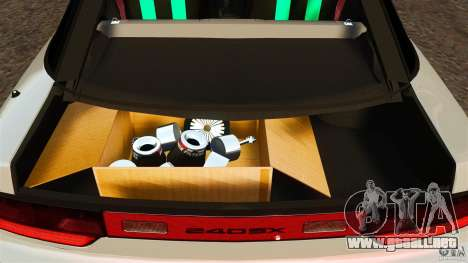 Nissan 240SX facelift Silvia S15 [RIV] para GTA 4 vista superior